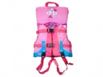 Light pink children's life jacket/vest/PFD