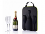 EVA hard shell champagne tote carrier bag koozies