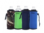 Neoprene Sport Insulated Water Bottle Cover Carrier Case Holder bag Shoulder Pouch