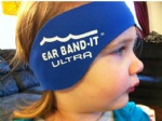 Neoprene swimmer head band