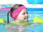 Neoprene swimmer head band/ ear bands