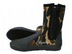 Dive Boot of 2011 Camouflage design